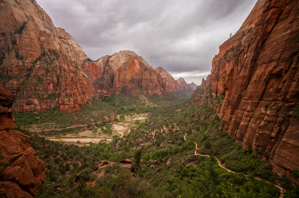 Stormy Clouds in Zion National Park