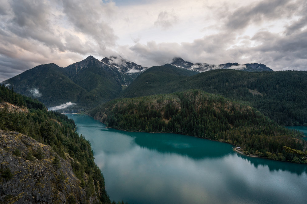 Diabo Lake, North Cascades National Park, Washington