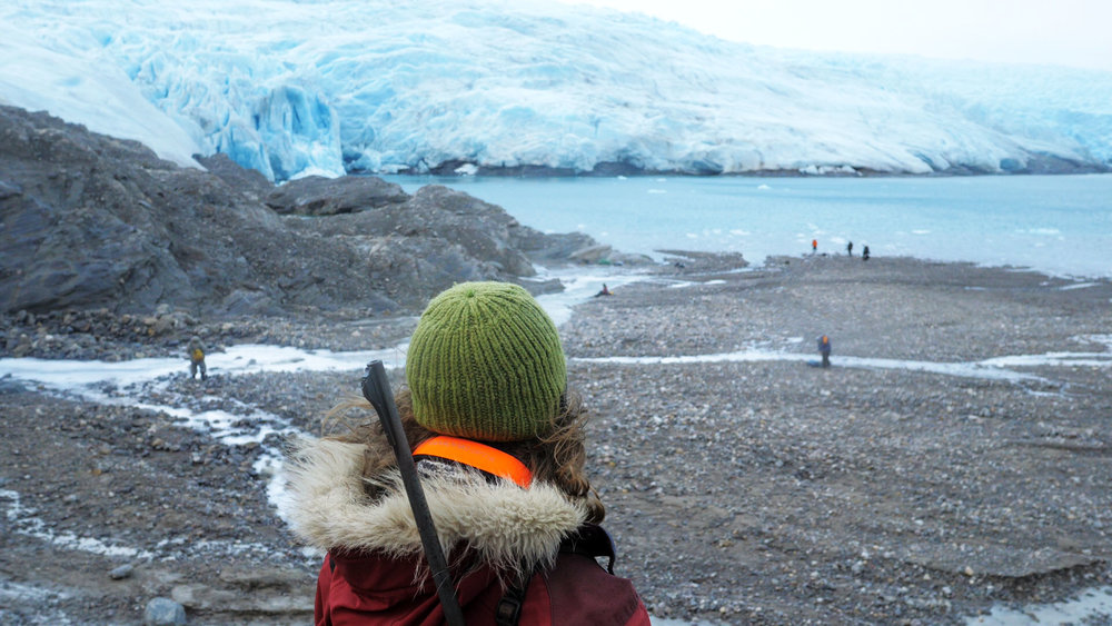 Marte Looking Out at Nordenskiöldbreen, Still from video