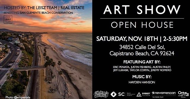This Saturday we have a beach clean up with @bearcoastcoffee @theholidaysca @blackbirdartisanpie and @teamzissouglobal at Calafia State Beach from 10am-1pm followed by an amazing after party fundraiser and art show from 2-5:30 with food from @sanchostacos and music from @haydenvision! Going to be an AMAZING day! Join the party and show some gratitude for this amazing place we call Home!