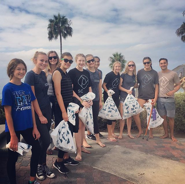 Join us TODAY from 10am-1pm for our beach Clean Up at Calafia State Beach in #sanclemente! We will be there with @bearcoastcoffee @blackbirdartisanpie @theholidaysca and @teamzissouglobal with free breakfast, coffee, games and a custom airstream to hang out at! Afterwards we will have an after party fundraiser event with an art show and food from @sanchostacos and live music from @haydenvision of @tunnelvisionsc! Big day of events! Join the party!