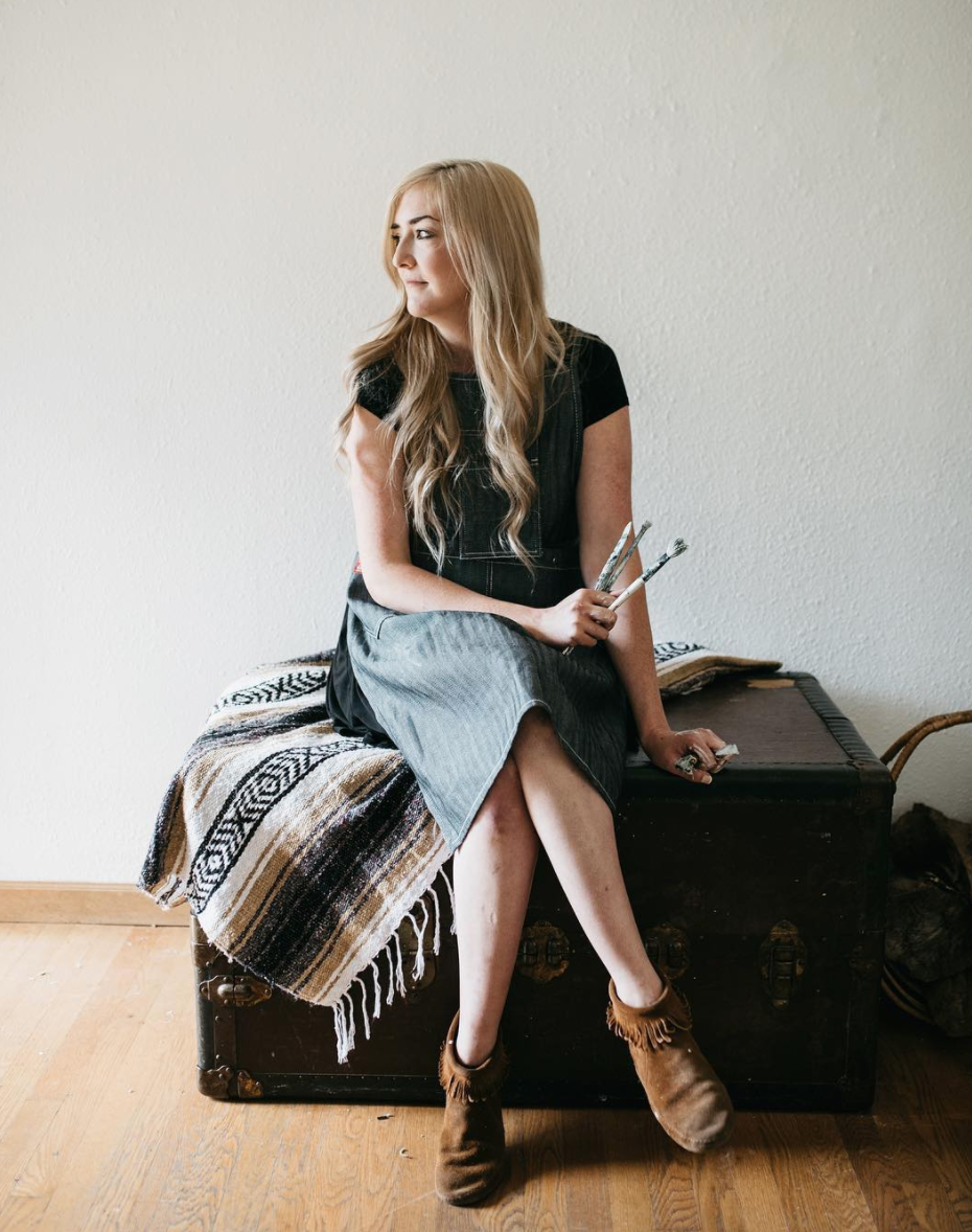 Interview with Portland-based artist,  Monika Kralicek .