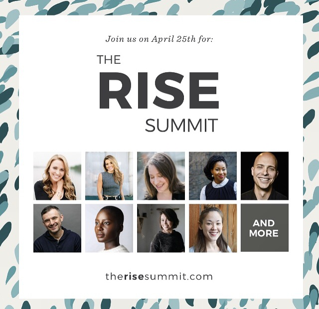 In April, The Rising Tide held an online summit that raised money to build two schools with   Pencils of Promise  .