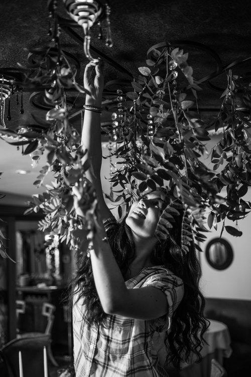 Sofia on location at   Restaurant Eve   .  Photo:   Erin Tetterton Photography