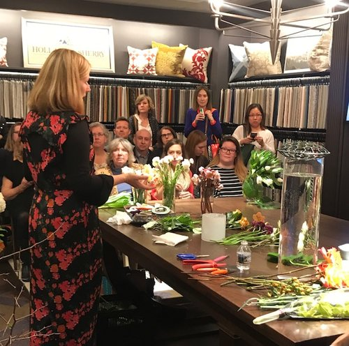 Design lecture for  Holland and Sherry Interiors