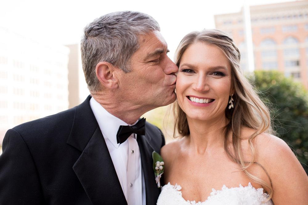 Atelie Ashley Flowers + Erin Tetterton Photography + DC Wedding Florist  + National Press Club +  Father Daughter