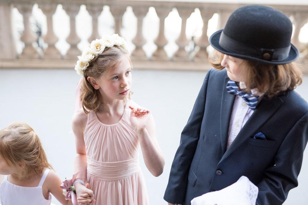 Atelier Ashley Flowers + Erin Tetterton Photography + Flower Girl + Flowers crown + Corsage + National Press Club