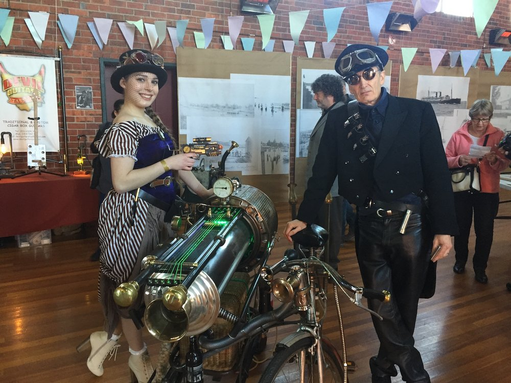 Steampunk Festival Ball Tasmania