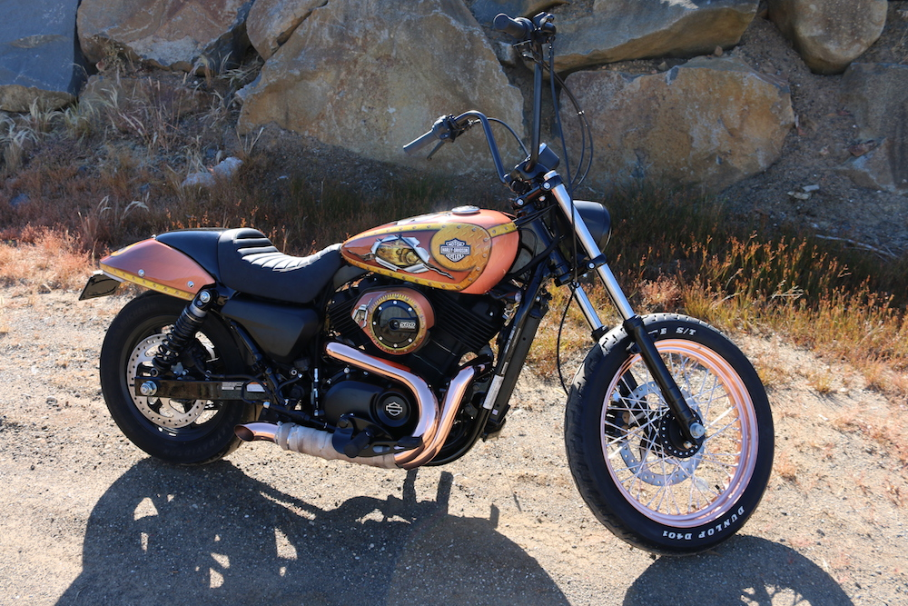 Win a harley-davidson bike Steampunk