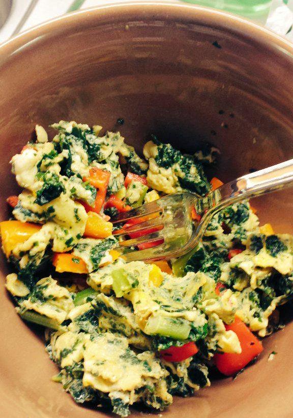 Kale, Egg & Veggie