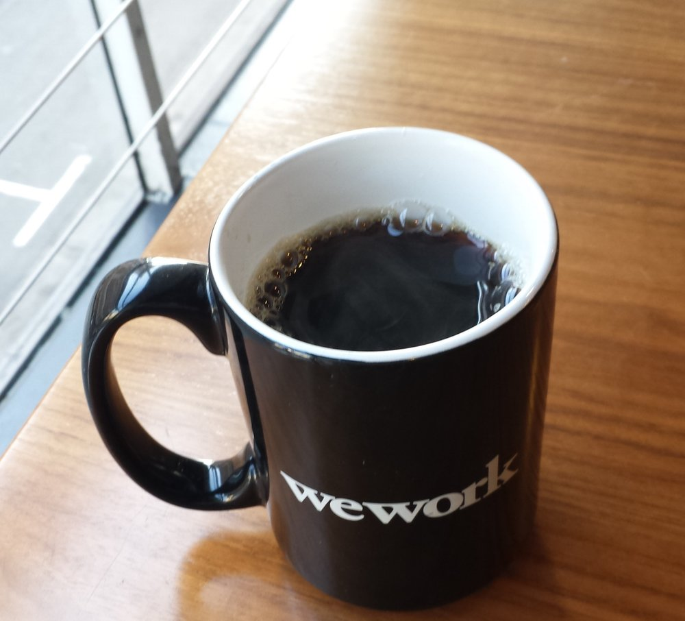 My first Cup O' Joe when I visited the WeWork San Francisco office!