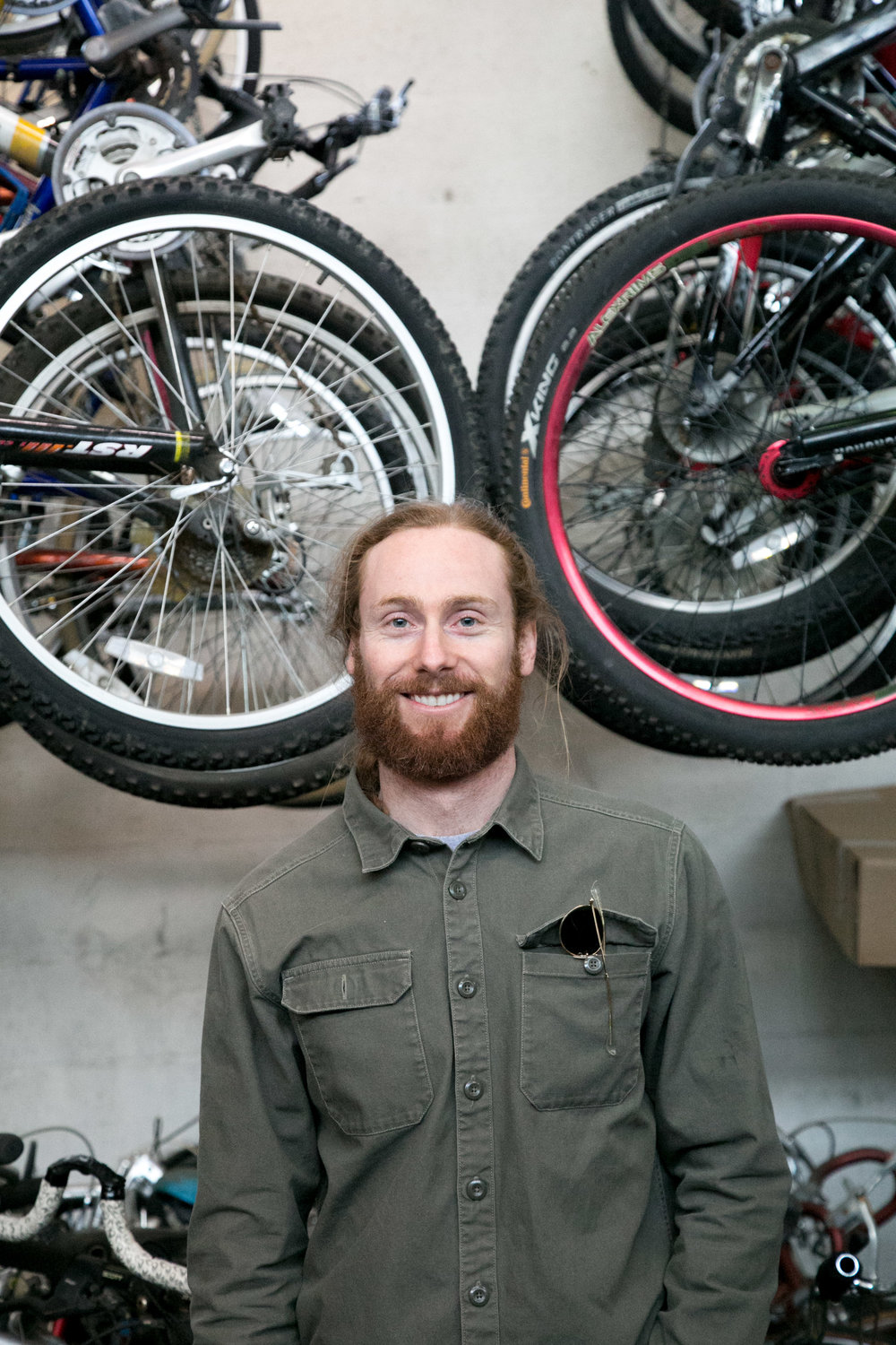Will Harris, Bike Shop Coordinator