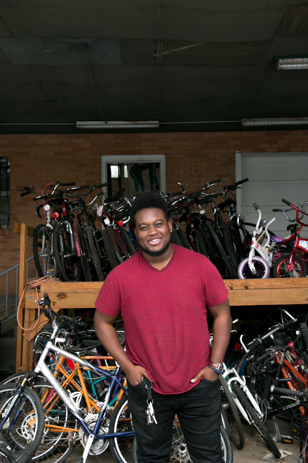 Vernon Duncan, Bike Shop Manager