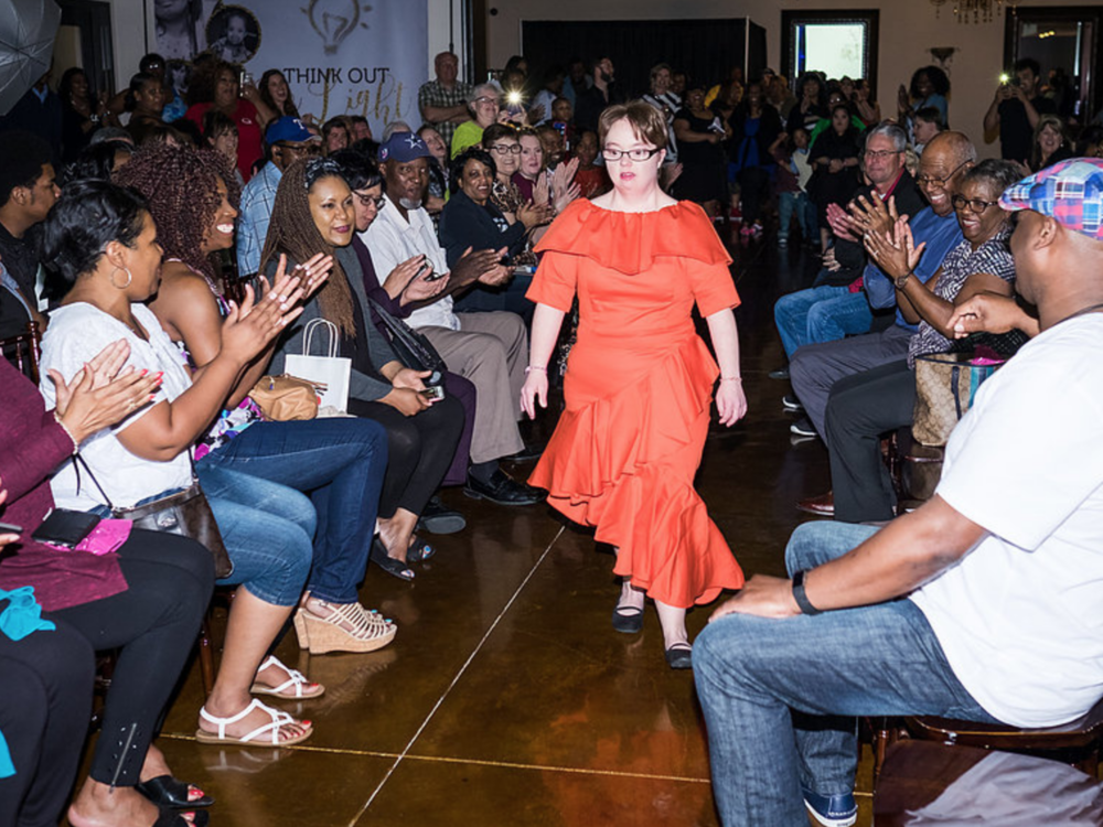 The 2017 Think Out, Be Light Fashion Show. Photo courtesy of Felecia Benton.