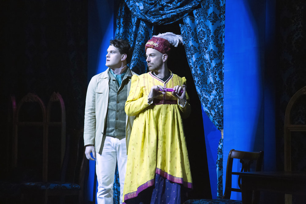 Justin Duncan and Brandon Potter in PRIDE AND PREJUDICE at WaterTower Theatre photo by Jason Anderson.jpg