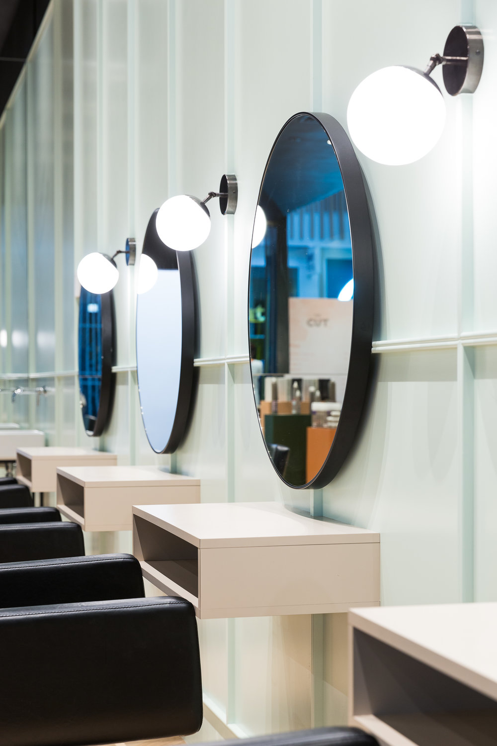 Our mirrors are from  Superette and our favourite lights are  Douglas & Bec