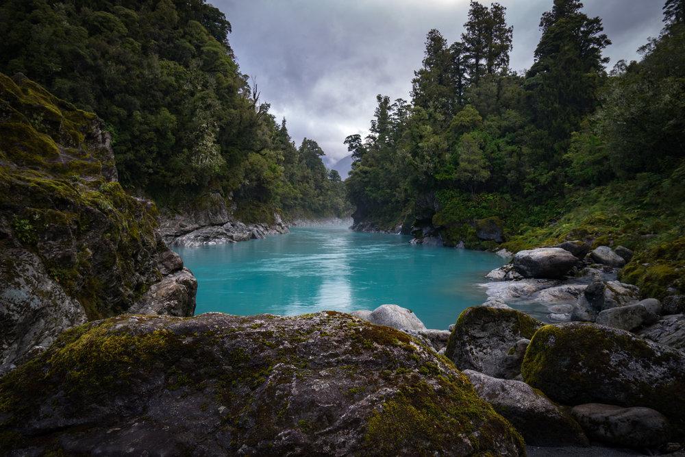 Hokitika Gorge.