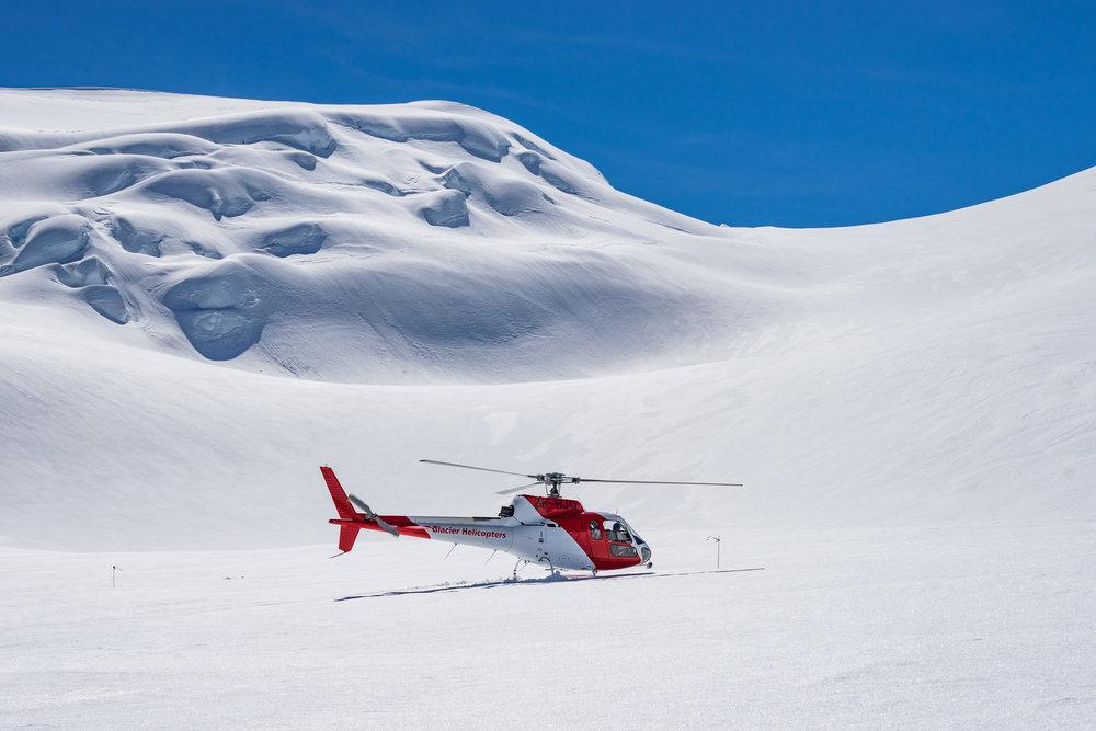 Glacier Helicopters.