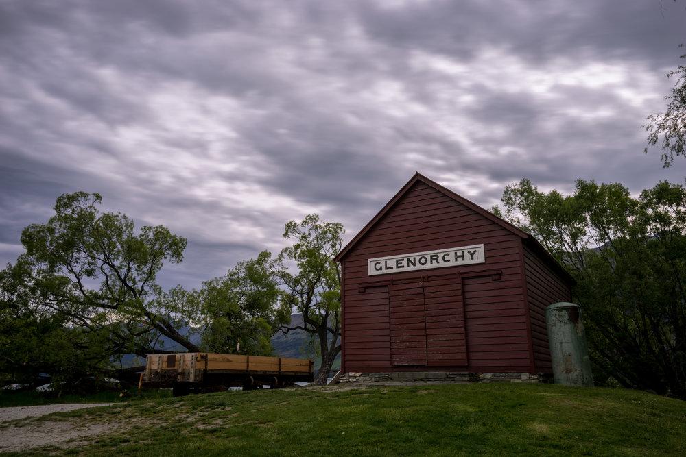Glenorchy boathouse.