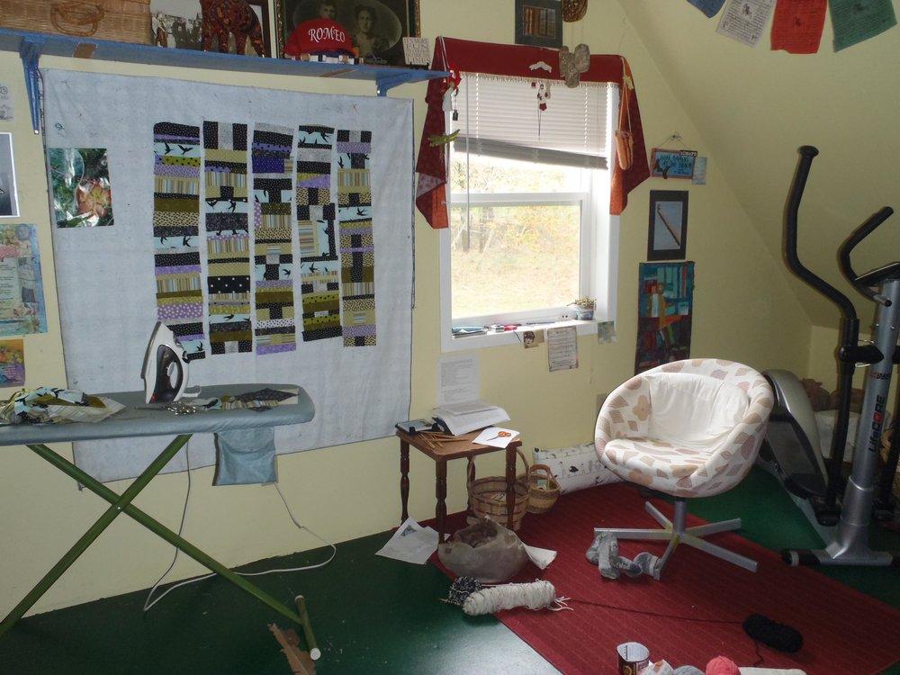 Bonnie's creative space