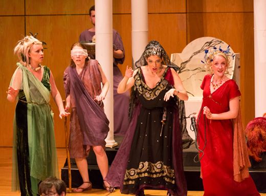 """First Witch"", Purcell's Dido and Aeneas with Connecticut Early Music Festival"