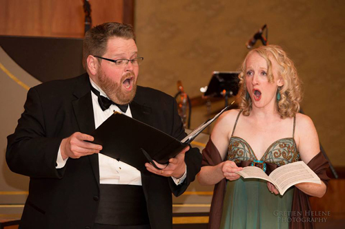 """Galatea"", Tenor, Stefan Reed as ""Acis"", Handel's Acis and Galatea, Handel and Haydn Society Gala"