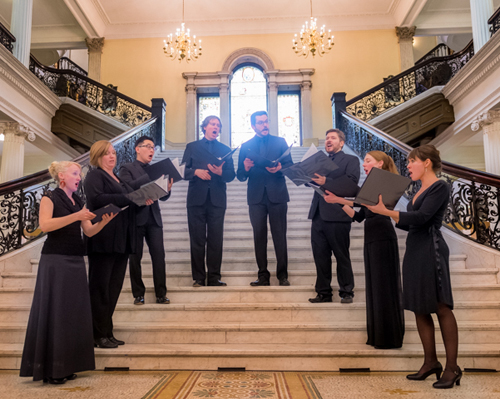 Performance with Handel and Haydn Society, Boston State House