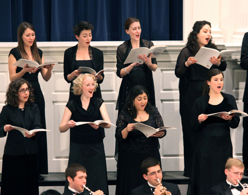 Yale Choral Society, Inaugural Performance