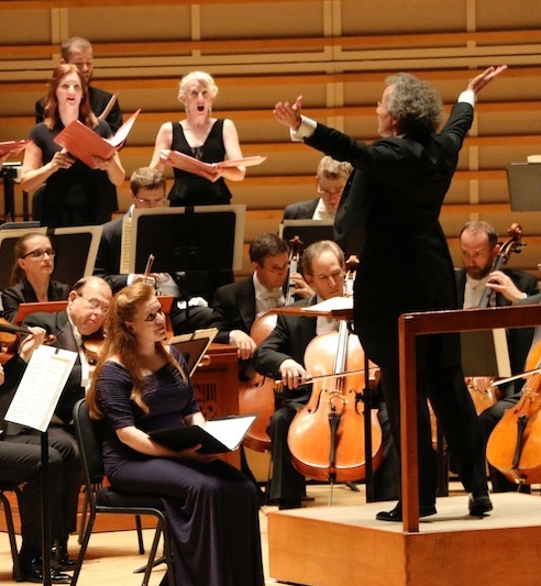 In performance with Seraphic Fire and the Cleveland Orchestra Miami, Bach Program, January 2017, Franz Welser-Möst, conductor