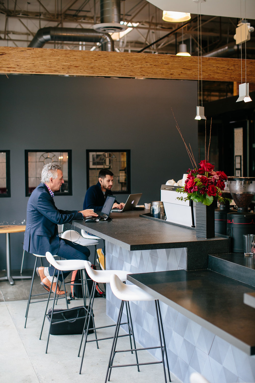 Portola Coffee in SoCo - Robert Puertas Design