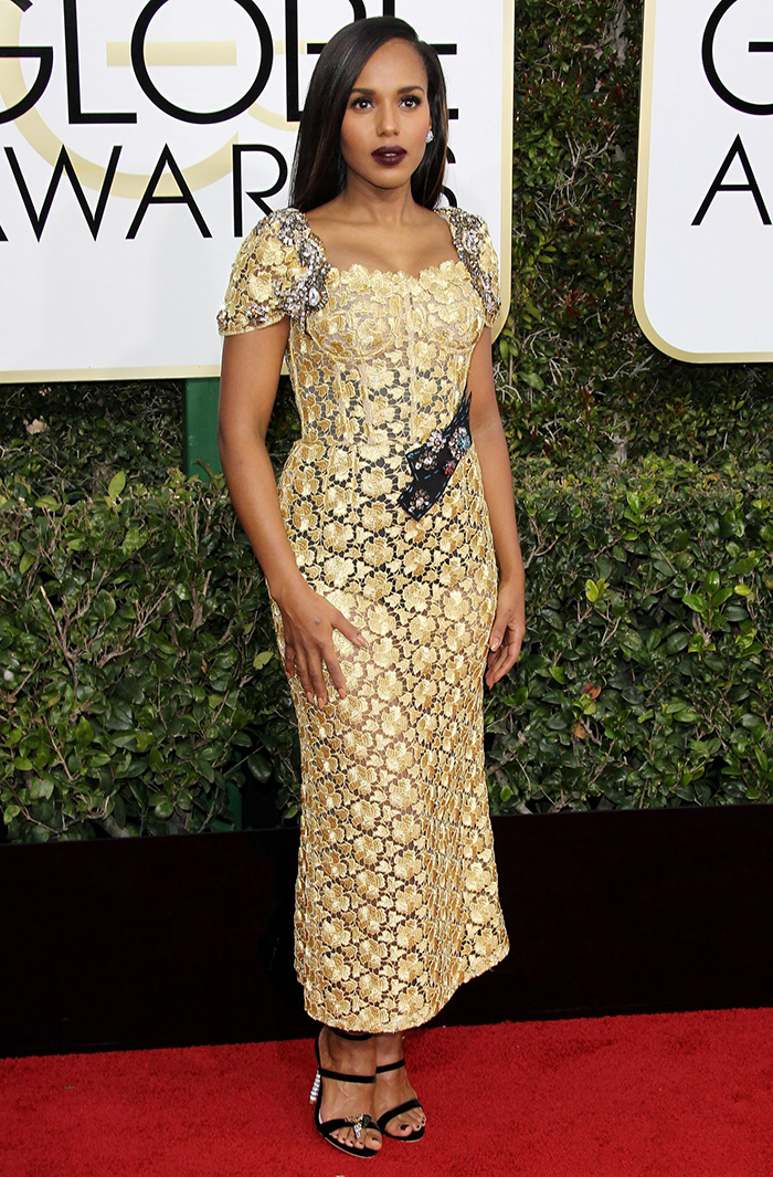 5. Kerry Washington - Dolce & Gabbana