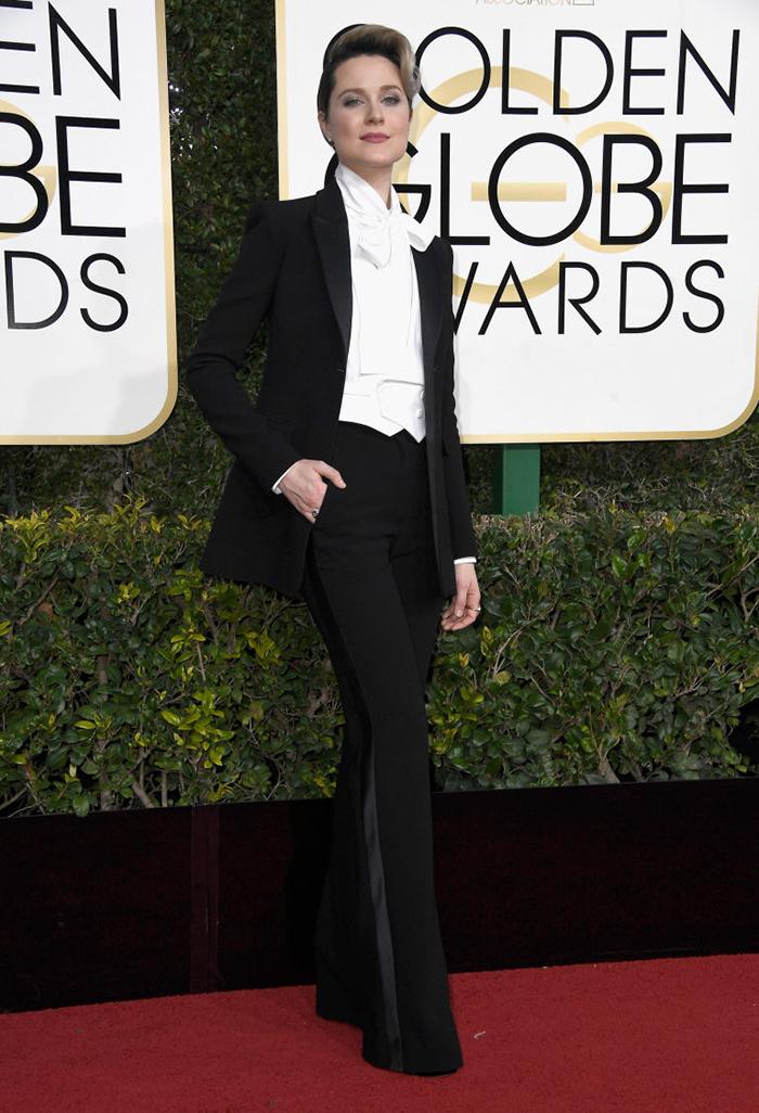 7. Evan Rachel Wood - Altuzarra