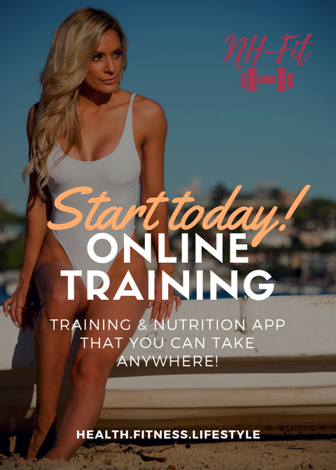 My online platform is LIVE! - Complete with an APP to use on your phone, to track macros and calories, as well as log reps and weights in the gym tor at home to see progression!All with the ease of being on your phone!