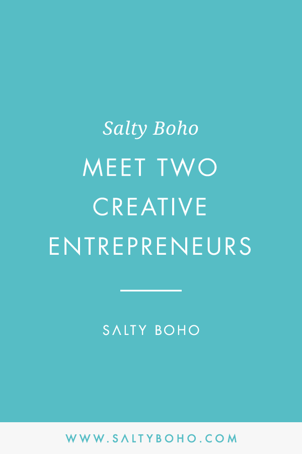 Meet two creative entrepreneurs | Handmade Bohemian Beach Items from around the world | Salty Boho Boutique | www.saltyboho.com