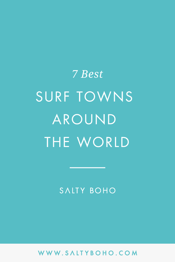 7 best surf towns around the world |  Handmade Bohemian Beach Items from Sri Lanka | Salty Boho Boutique | www.saltyboho.com