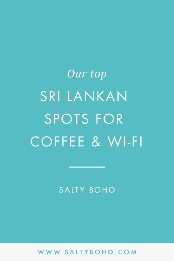 Our top sri lankan spots for coffee and Wifi |  Handmade Bohemian Beach Items from Sri Lanka | Salty Boho Boutique | www.saltyboho.com