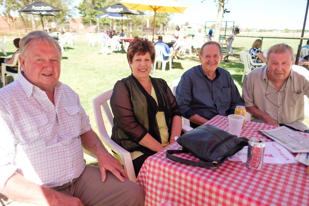 Some of our owners enjoying their day at the Country Championships.