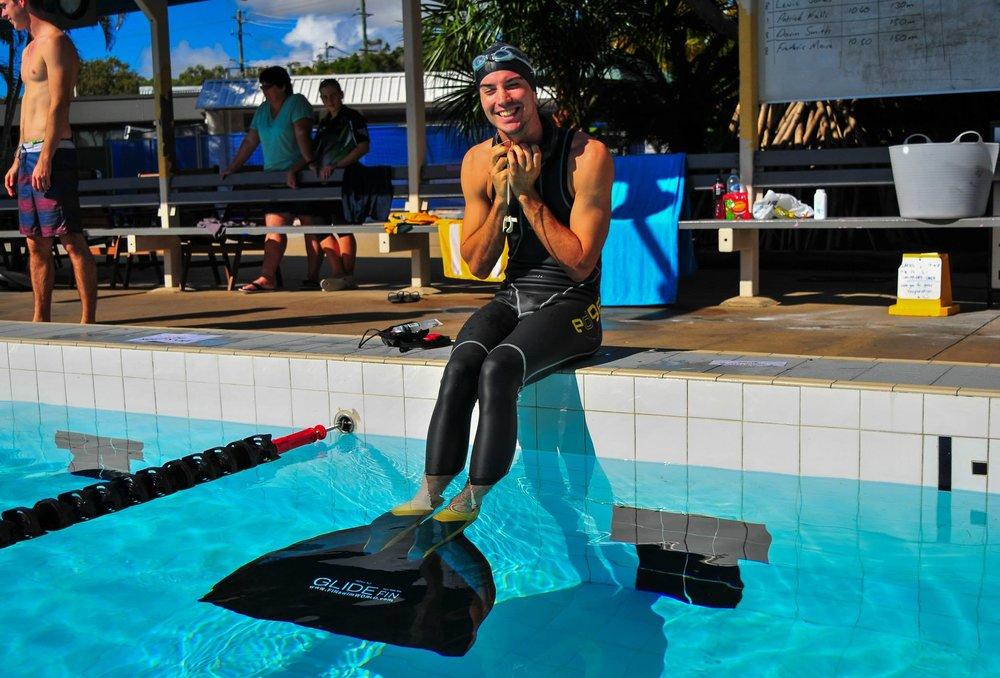 freediving competition preparing
