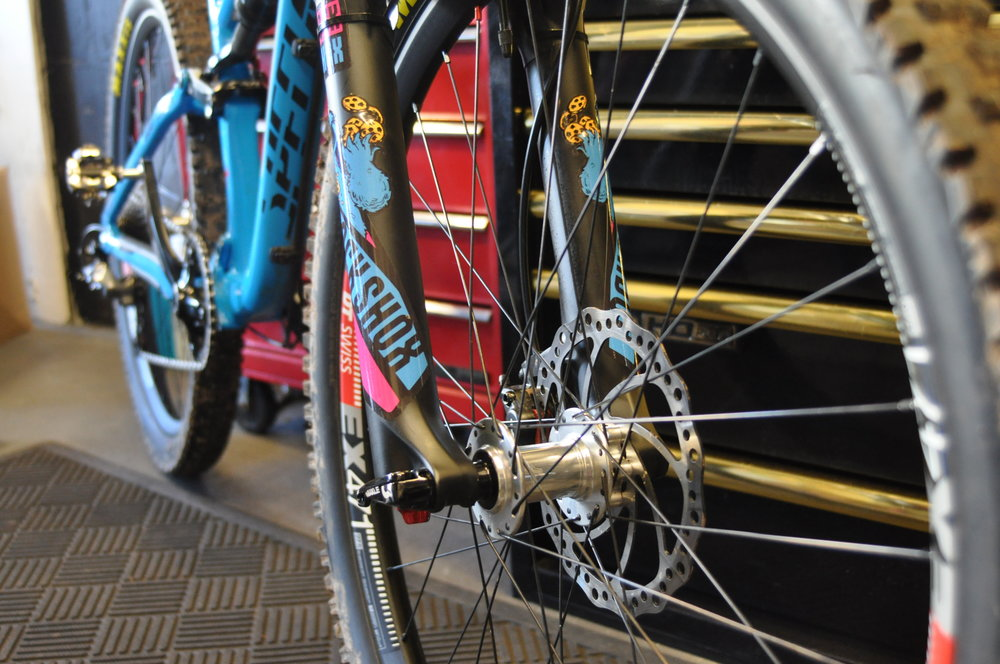FULL SERVICING & CUSTOM BUILDS - Full bike servicing starts at £40Tune-up's to full strip down, we have it covered. Collection and delivery options are available for all jobs from suspension servicing to tubeless repair.