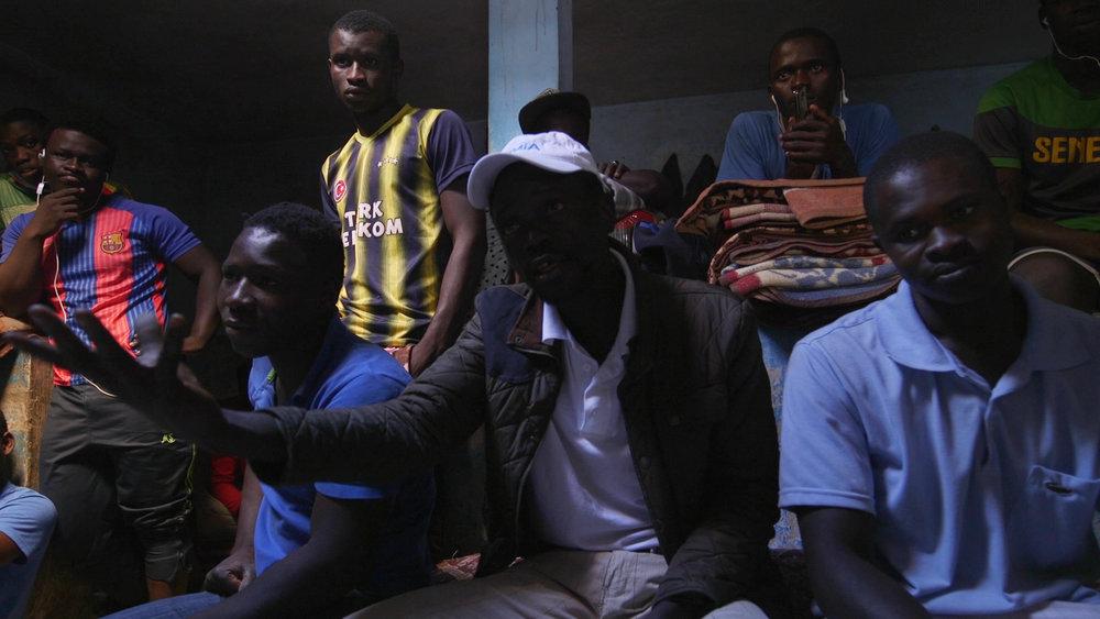 Takadoum, ghetto di Rabat. Qui i migranti provenienti dall'Africa sub sahariana trovano rifugio dagli estenuanti viaggi che sperano li condurranno in Europa.