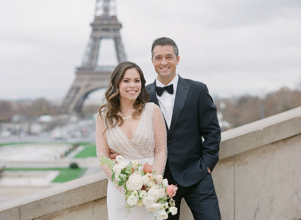 Eiffel Tower portraits are always a good idea!   Greg Finck Photography