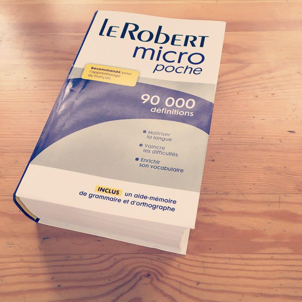 「ミクロ」で「ポッシュ」(極小ポケット版)...言葉の定義を存在で抹殺するミクロ・ロベール。