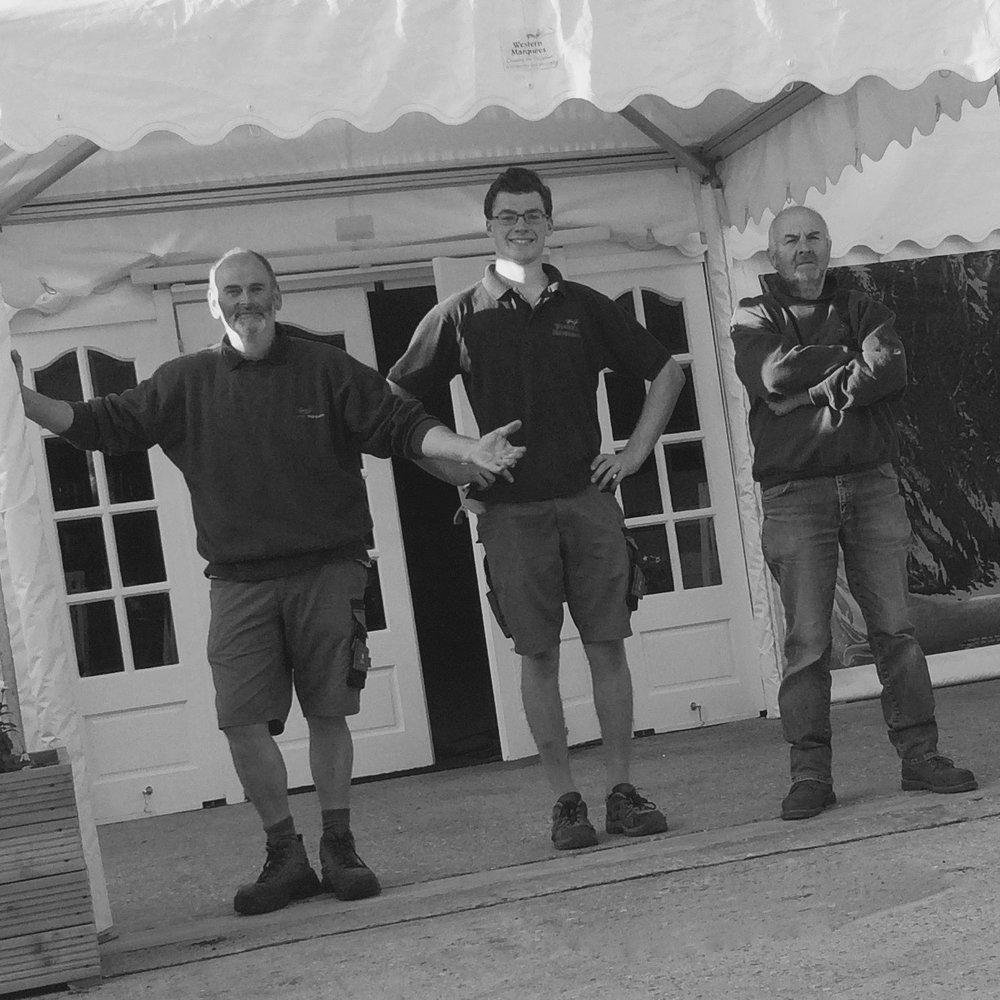 John, Gary, Patrick,Ian & Damion -Installers