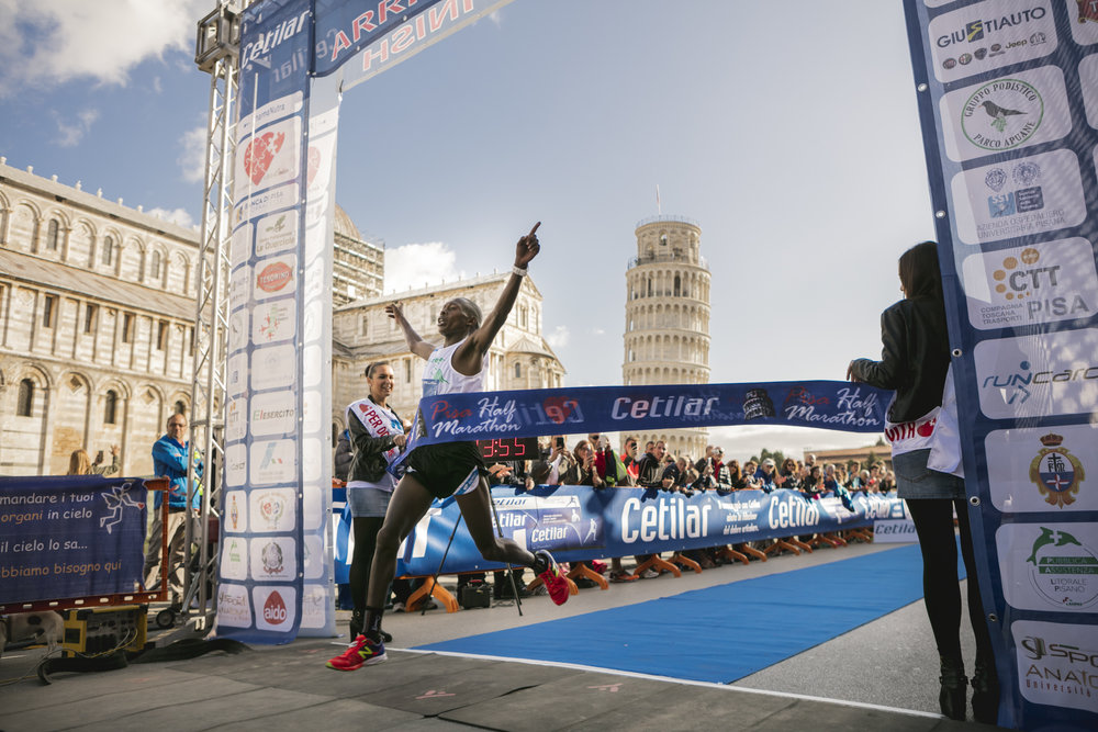 Tiongik Paul - Pisa Half Marathon - Ottobre 2017