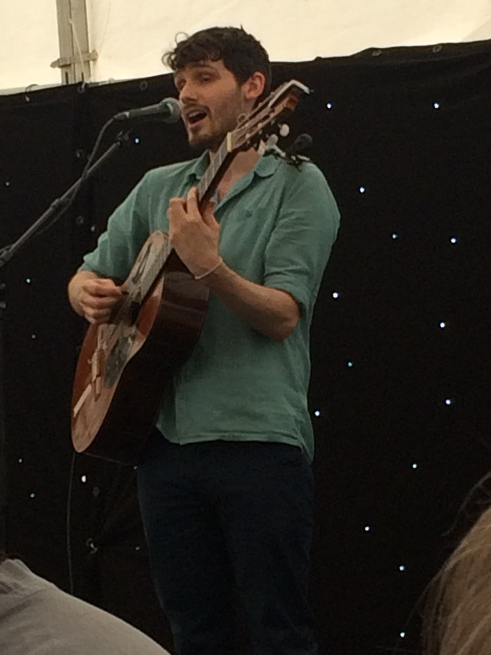Dom Prag at Rickmansworth Waterways Festival 2018