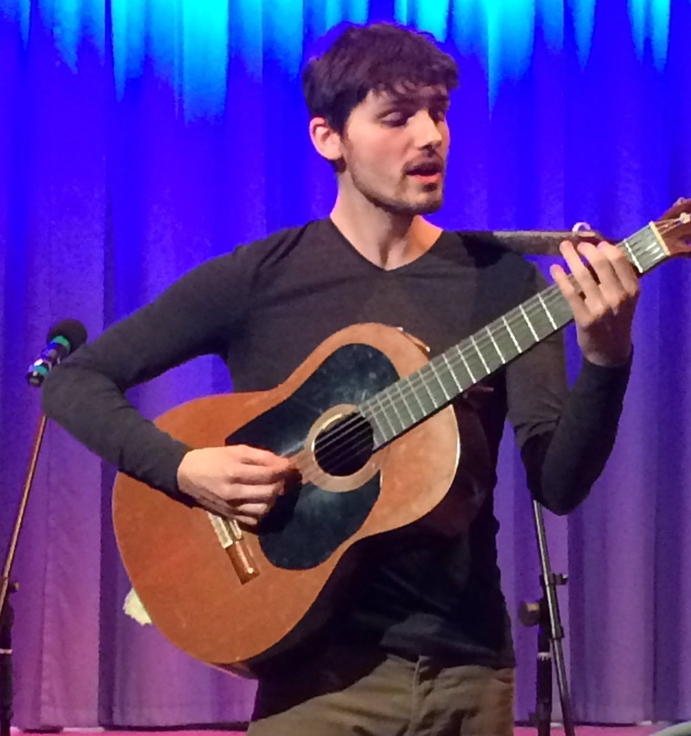 Dom Prag at Milford folk club