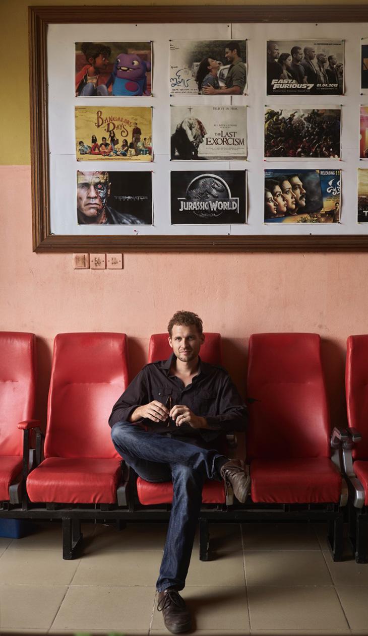 Vincent Baumont, filmmaker at the official selection of Zanzibar International Film Festival