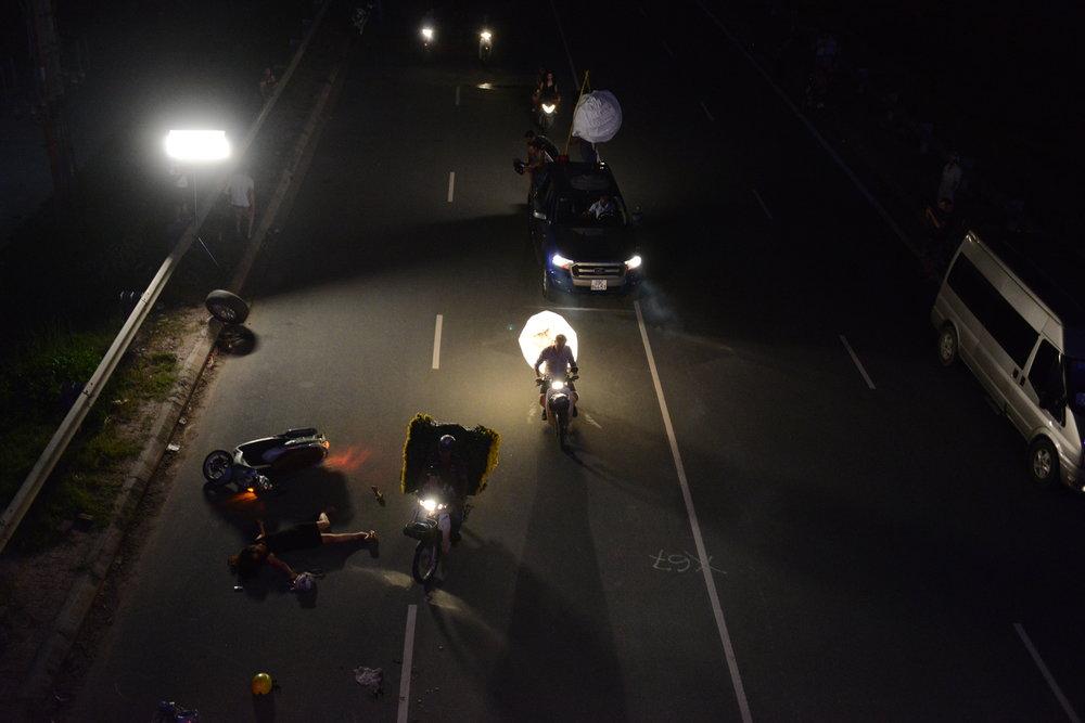 Behind the scenes shaort film Hanoi