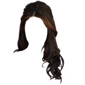 3. Side Part Medium Curl