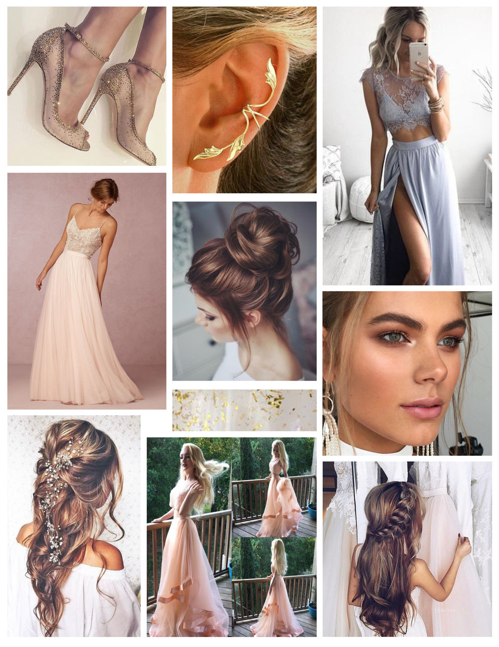 Pinterest if life- and where we found all these images for our Prom Mood Board.